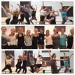 Attic i Drammen øver til å varme opp for Make me dance