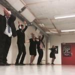 Ordførere i Hallingdal øver på flash mob