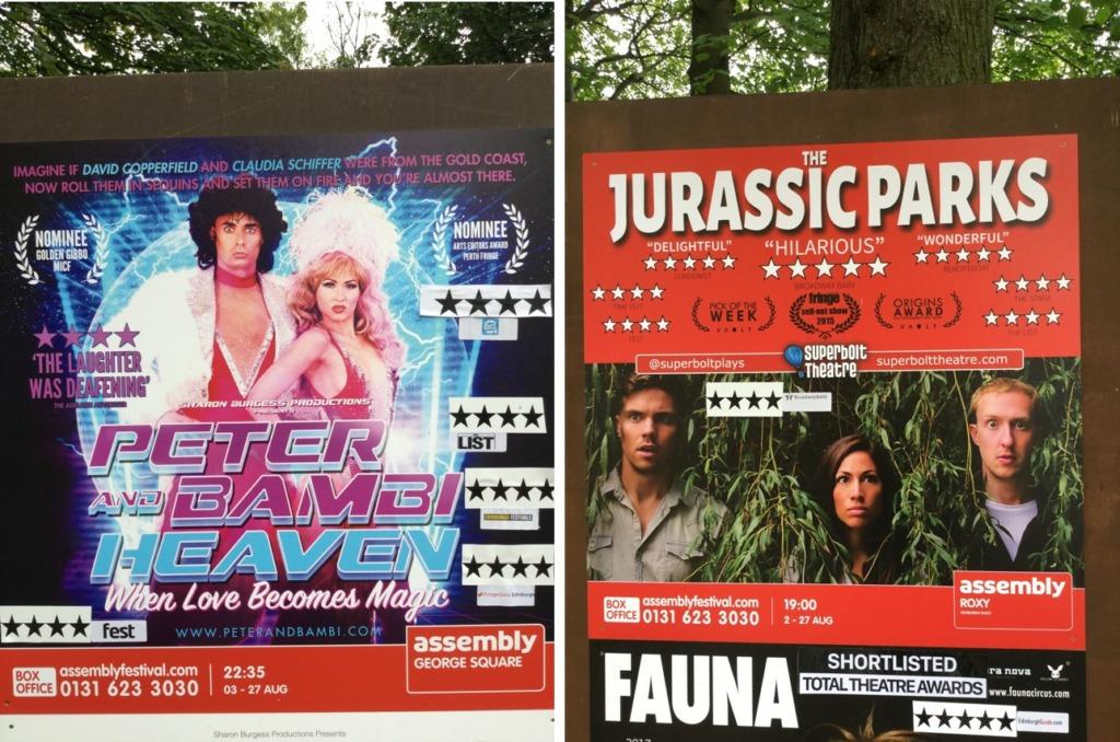 Plakater Fringe
