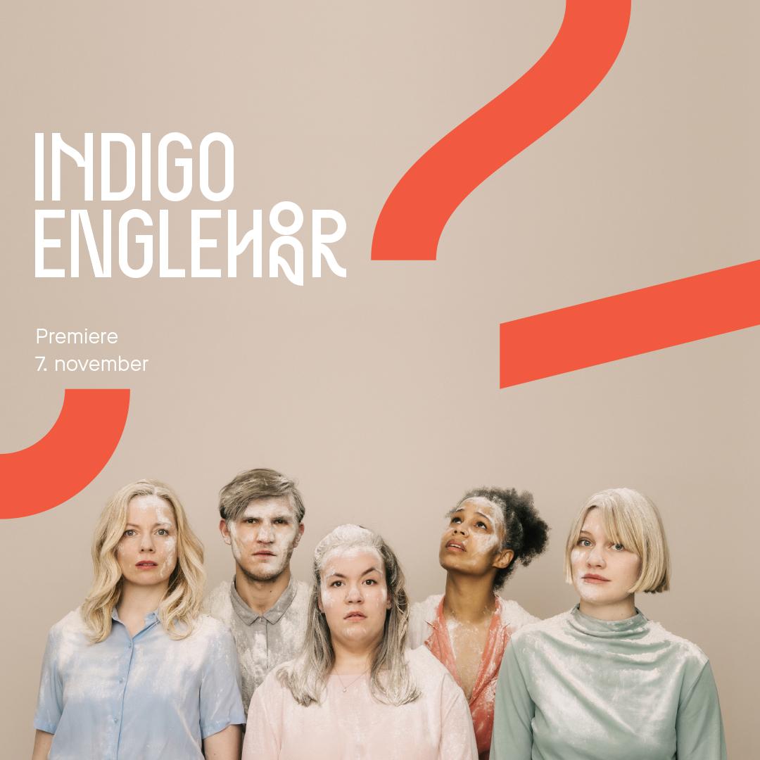 Plakatfoto Indigo Englehår